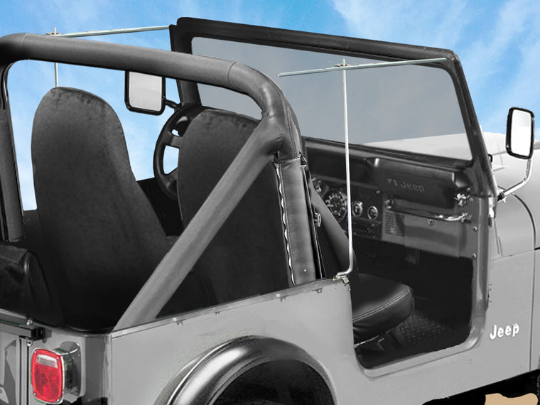 FORTEC4x4 Replica Support Rod for 76-86 Jeep CJ7 Whitco Soft Top