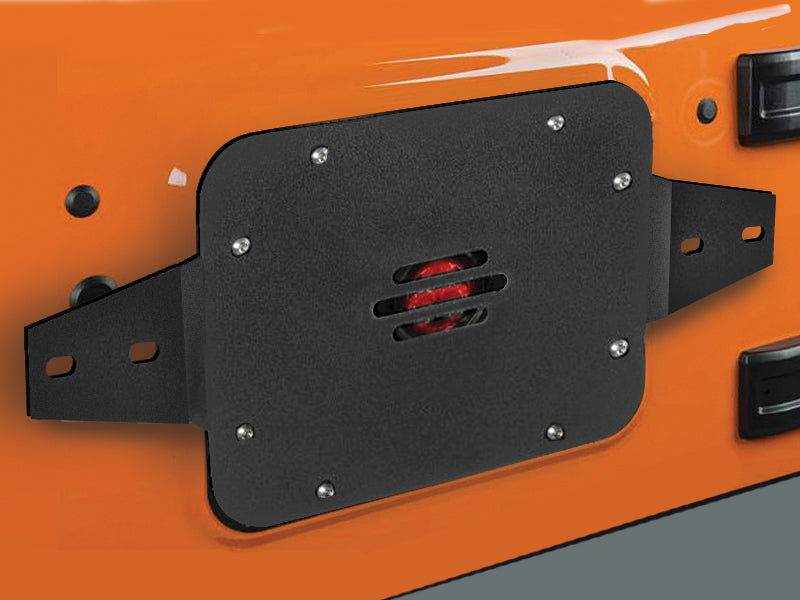 JCR ROTOPAX Gas Can Holder for 07-18 Jeep Wrangler JK & JK Unlimited