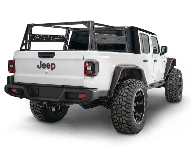 JCR OFFROAD Bed Racks for 20-up Jeep Gladiator JT