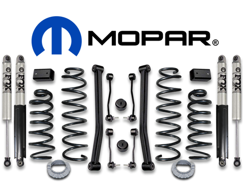 "MOPAR 2"" Lift Kit with FOX Shocks for 18-up Jeep Wrangler JL Unlimited"