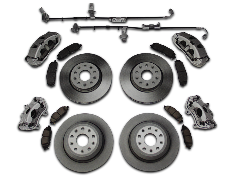 MOPAR Big Brake Kit for 18-up Jeep Wrangler JL & JL Unlimited