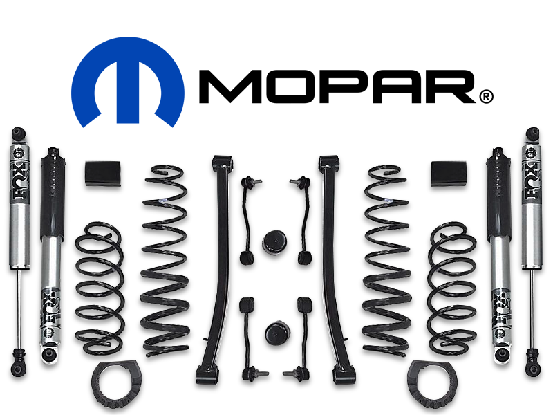 "MOPAR 2"" Lift Kit with FOX Shocks for 20-up Jeep Gladiator JT"