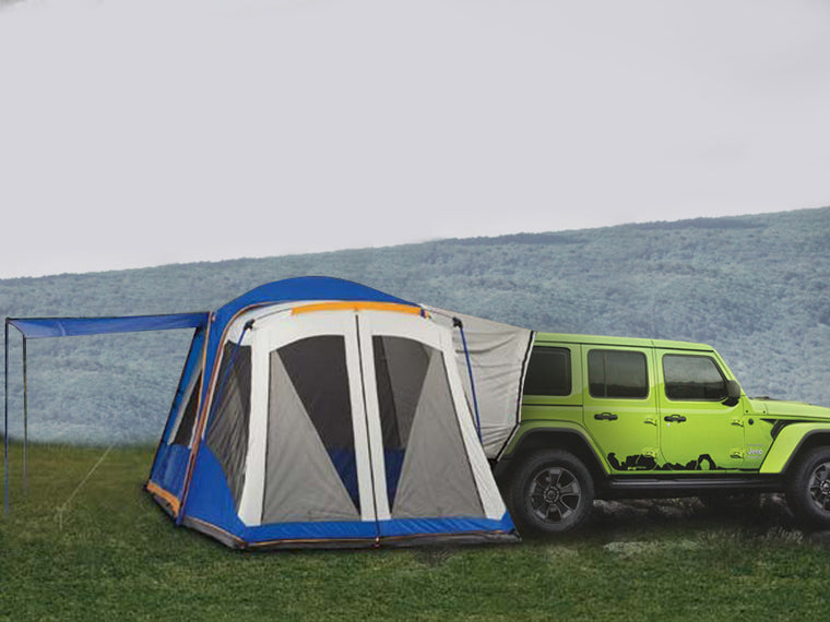 MOPAR Tent for 18-up Jeep Wrangler JL u0026 JL Unlimited & 08 Storage u0026 Cargo u2013 FORTEC4x4