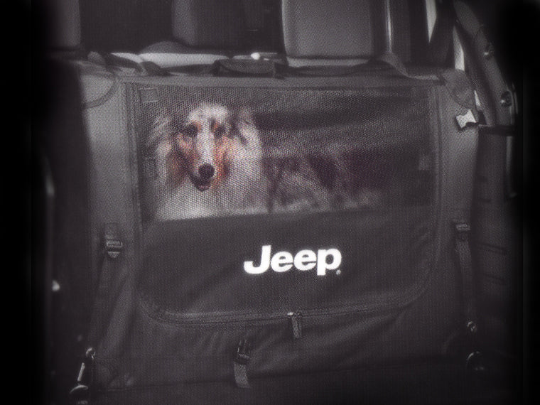 MOPAR Pet Partition for 18-up Jeep Wrangler JL & JL Unlimited