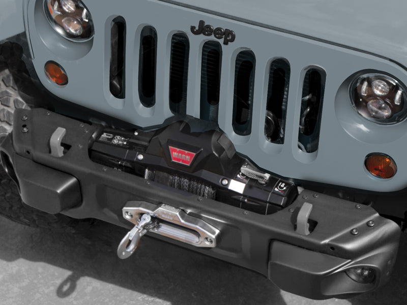 MOPAR Rubicon 10th Anniversary Front Stubby Bumper for 07-18 Jeep Wrangler JK & JK Unlimited