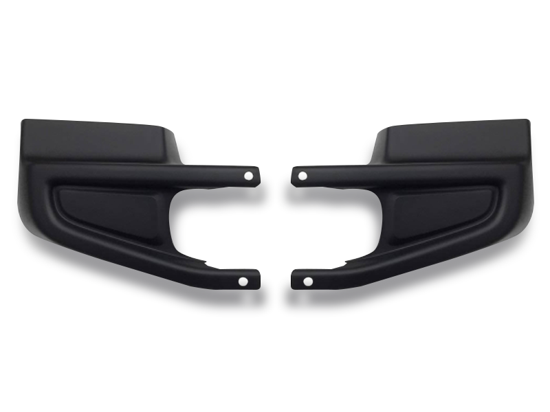 MOPAR Front Bumper End Caps for 18-up Jeep Wrangler JL & JL Unlimited