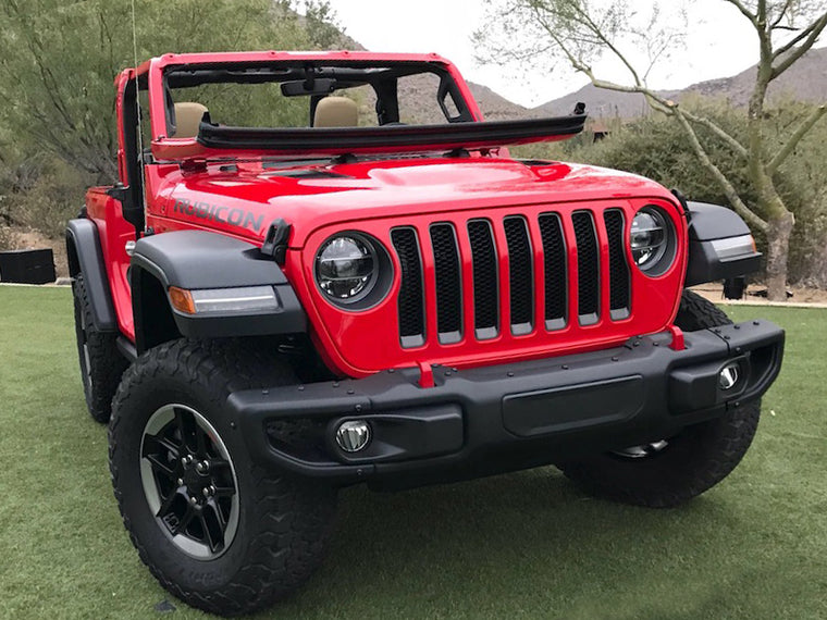 MOPAR 3 Piece Front Bumper for 18-up Jeep Wrangler JL & JL Unlimited