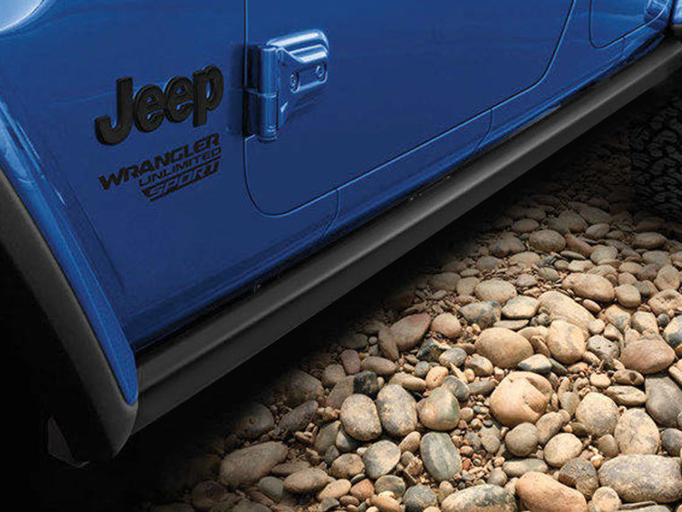 MOPAR Rubicon Rock Rails Only for 18-up Jeep Wrangler JL Unlimited