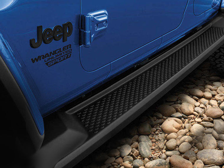 MOPAR Side Steps for 18-up Jeep Wrangler JL Unlimited