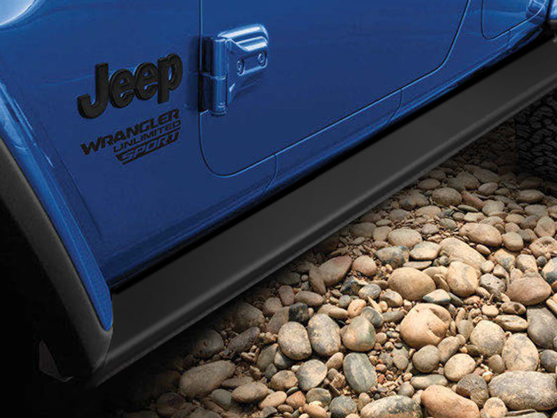 MOPAR Performance Rock Rails for 18-up Jeep Wrangler JL Unlimited
