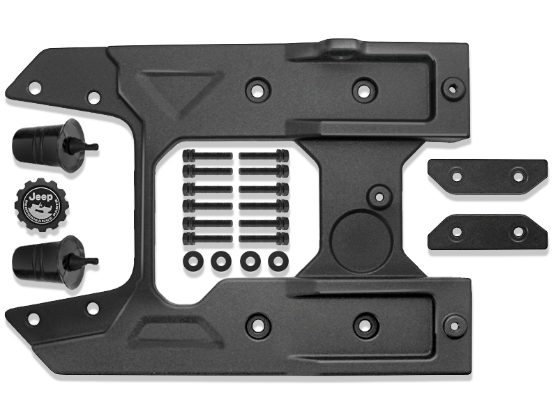MOPAR Tailgate Reinforcement System for for 18-up Jeep Wrangler JL & JL Unlimited