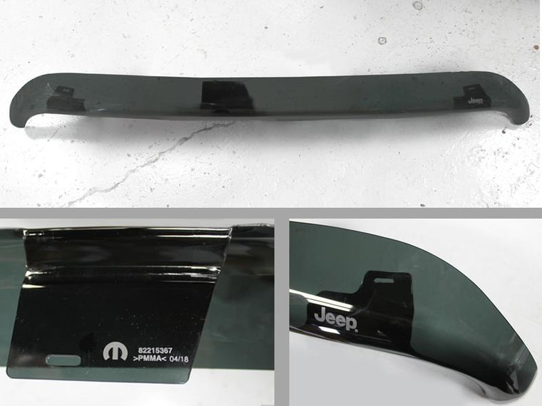 MOPAR Bug Deflector for 18-up Jeep Wrangler JL & JL Unlimited