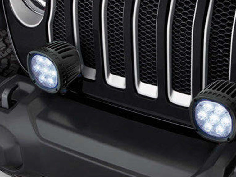 MOPAR Bumper Mount Light Brackets for 18-up Jeep Wrangler JL & JL Unlimited
