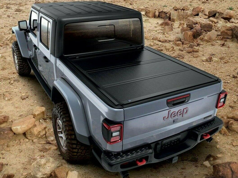 MOPAR Hard Tri-Fold Tonneau Cover for 20-up Jeep Gladiator JT