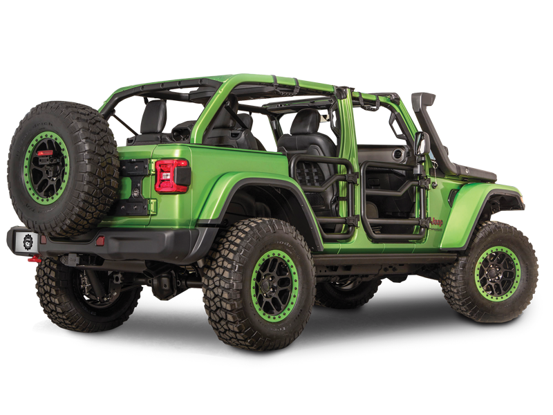 MOPAR Fender Flares for 18-up Jeep Wrangler JL & JL Unlimited
