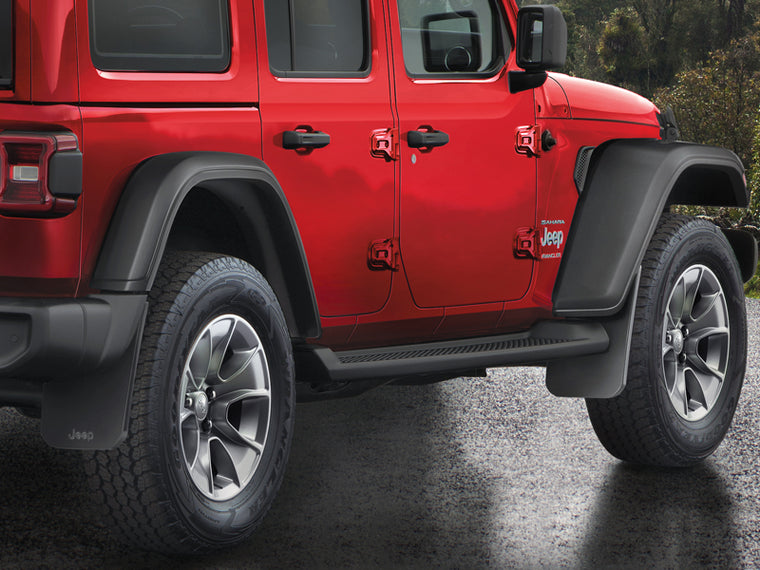 MOPAR Splash Guards, Pair for 18-up Jeep Wrangler JL & JL Unlimited