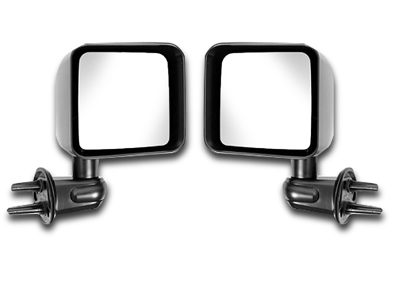 MOPAR or BESTOP Mirror Kit for 07-18 Jeep Wrangler JK & JK Unlimited