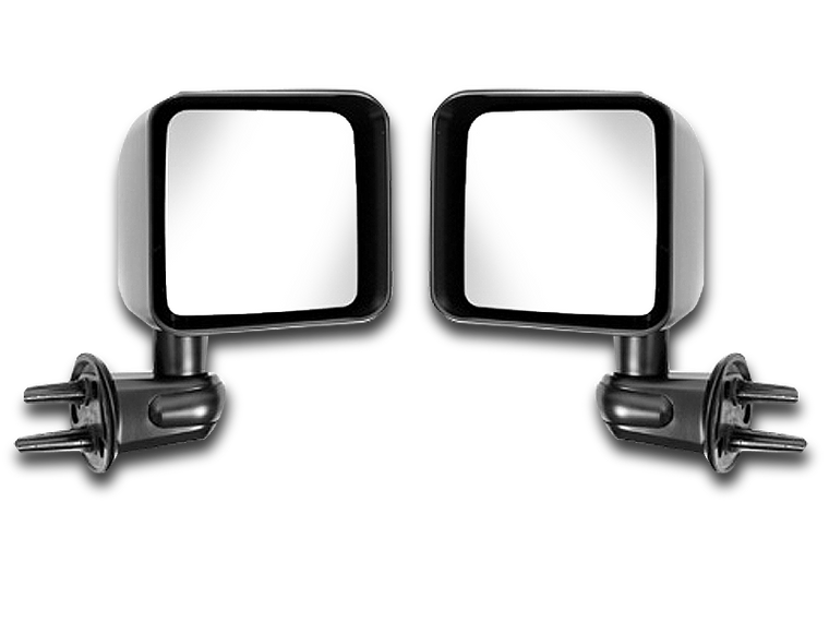 MOPAR or BESTOP Set of Mirrors for 07-18 Jeep Wrangler JK & JK Unlimited