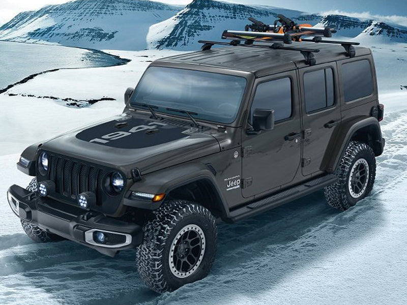 MOPAR® Removable Roof Rack Kit For 18 Up Jeep Wrangler JL U0026 JL Unlimited