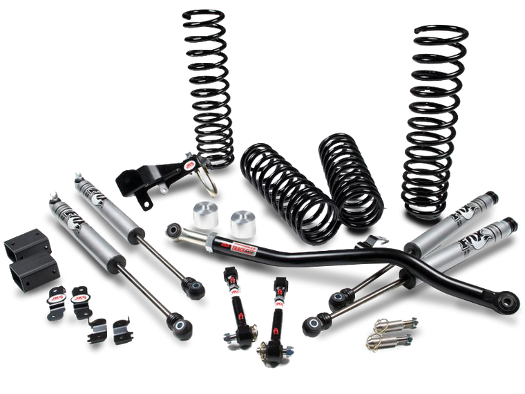 "JKS JSPEC 2.5"" Suspension System for 07-18 Jeep Wrangler JK & JK Unlimited"