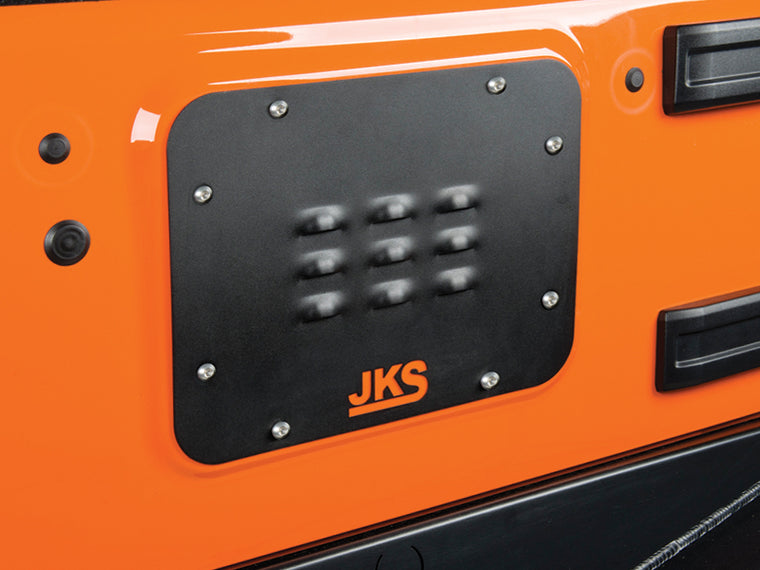 JKS Tailgate Cover Plates for 07-18 Jeep Wrangler JK & JK Unlimited
