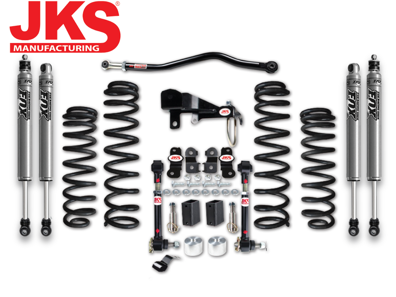 "JKS JSPEC 3.5"" Suspension System for 07-18 Jeep Wrangler JK & JK Unlimited"