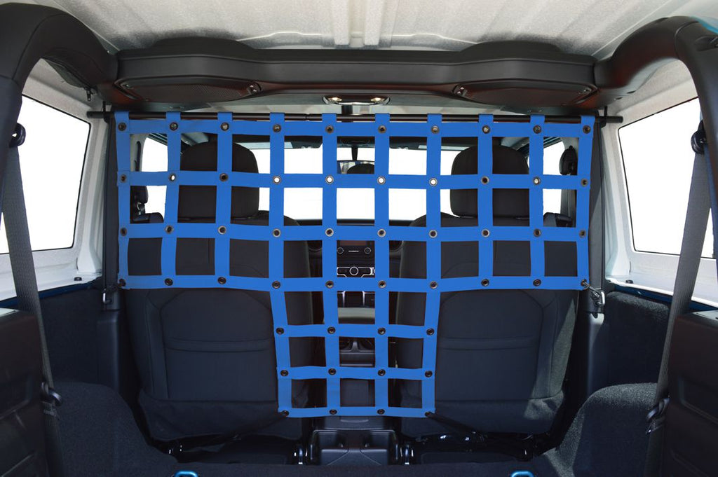 DIRTYDOG4x4 Front Pet Divider, 2-Door Only for 18-up Jeep Wrangler JL