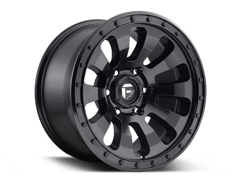 "FUEL D630 ""TACTIC"" Wheel in Satin Black for 07-18 Jeep Wrangler JK & 18-up Jeep Wrangler JL"