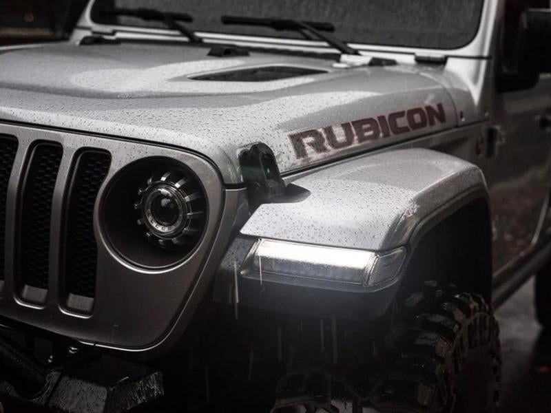 MORIMOTO XB LED Turns (Smoked; Set) for 18-up Jeep Wrangler JL & JL Unlimited
