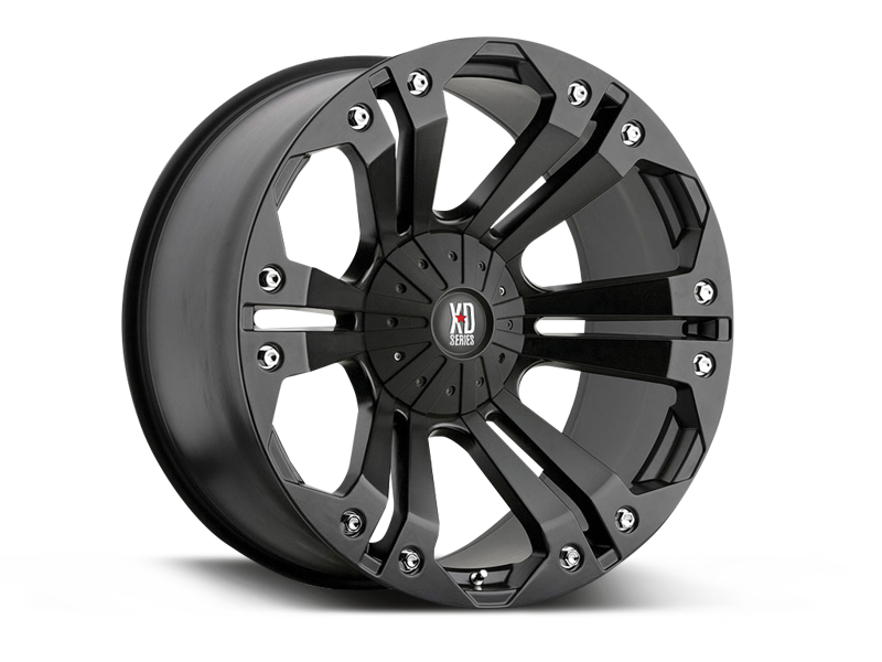 MONSTER XD 778 Wheel for 07-up Jeep Wrangler JK, JL & Gladiator JT