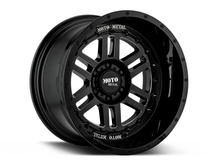 "MOTOMETAL MO800 ""DEEP SIX"" Wheel for 07-up Jeep Wrangler JK, JL & JT Gladiator"