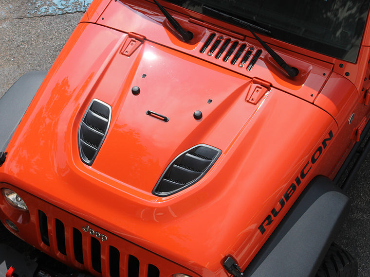 MOPAR Rubicon X Vented Hood for 07-18 Jeep Wrangler JK & JK Unlimited