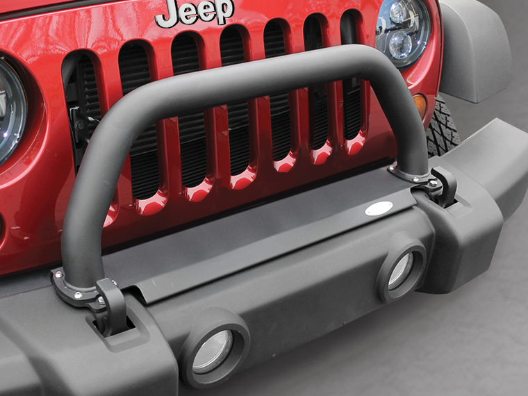 "MAXIMUS-3 ""Classic Hoop"" without Ligth Brackets for Factory JK Bumper Bumper for 07-18 Jeep Wrangler JK & JK Unlimited"