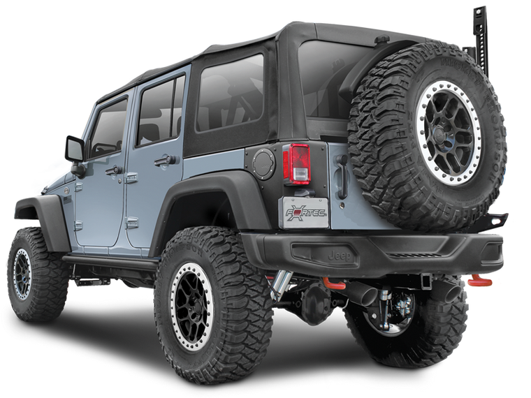 MOPAR Rear Bumper Rubicon X & 10th Anniversary for 07-18 Jeep Wrangler JK & JK Unlimited