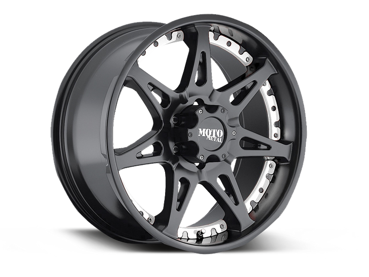 MOTO METAL 961 Wheel in Satin Black for 07-18 Jeep Wrangler JK & JK Unlimited