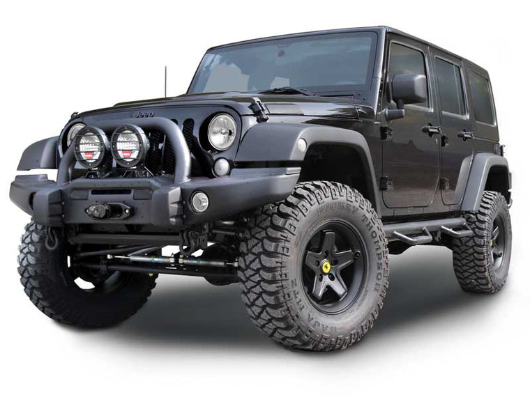 N-FAB Nerf-Steps for 07-08 Jeep Wrangler JK & JK Unlimited