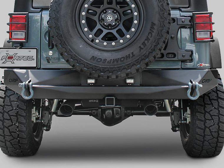 OR-FAB Rear HDX Bumper for 07-18 Jeep Wrangler JK & JK Unlimited