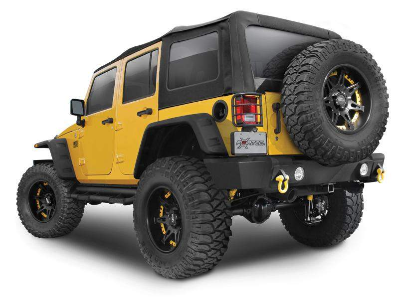 RUGGED RIDGE Hurricane Flat Fender Kit for 07-18 Jeep Wrangler JK & JK Unlimited