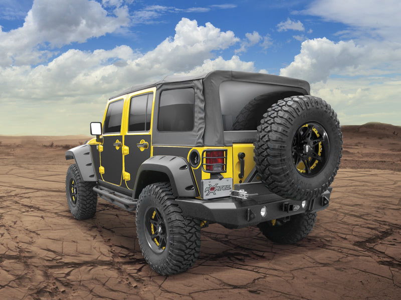 RUGGED RIDGE Magnetic Protection for 07-18 Jeep Wrangler JK & JK Unlimited