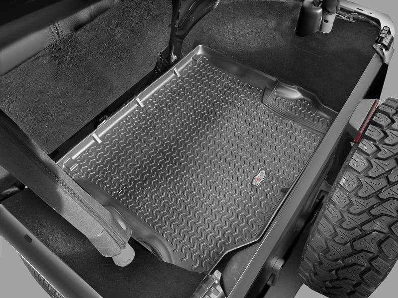 FORTEC Cargo Floor Liners in Black