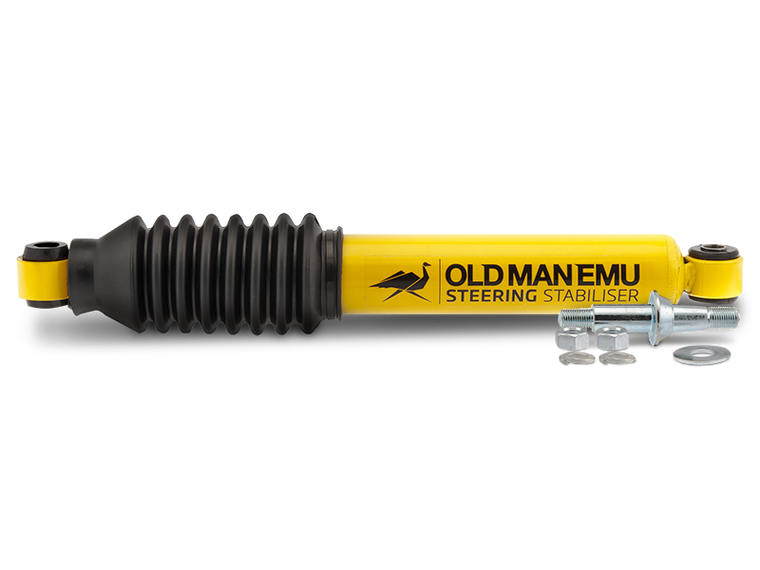 OLD MAN EMU Steering Stabilizer, Black for 07-18 Wrangler JK & JK Unlimited