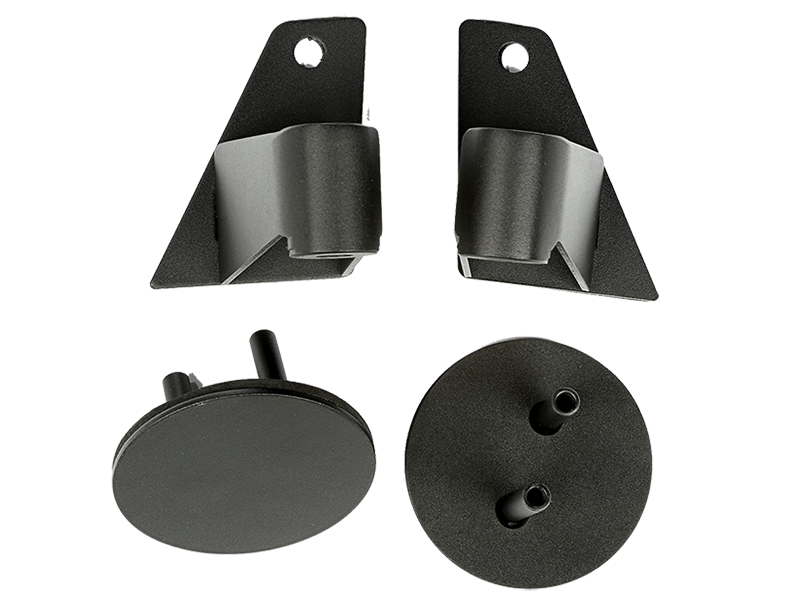 RUGGED RIDGE Mirror Relocation Brackets for 07-18 Jeep Wrangler JK & JK Unlimited