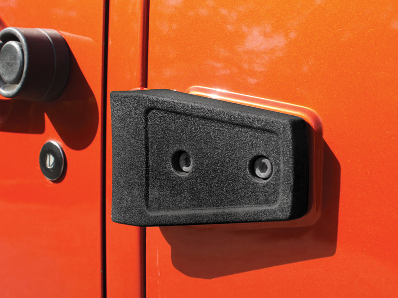 RUGGED RIDGE Hood or Door Hinge Cover Kits for 07-18 Jeep Wrangler JK & JK Unlimited