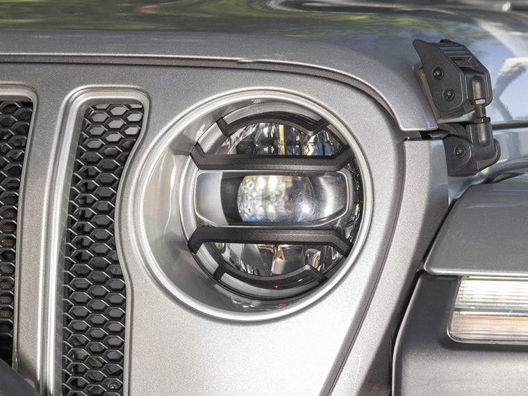 RUGGED RIDGE Elite Headlight Guard for 18-up Jeep Wrangler JL & JL Unlimited