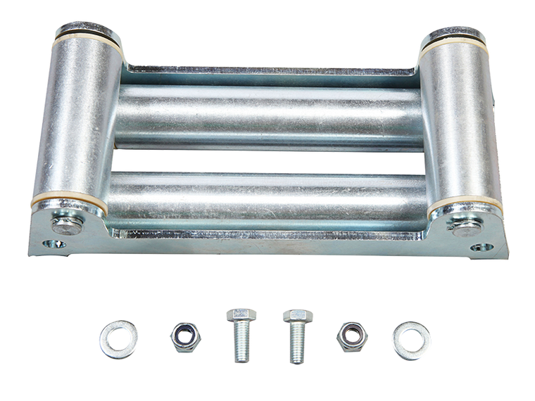 RUGGED RIDGE Winch Roller Fairlead with Light Mounting Holes