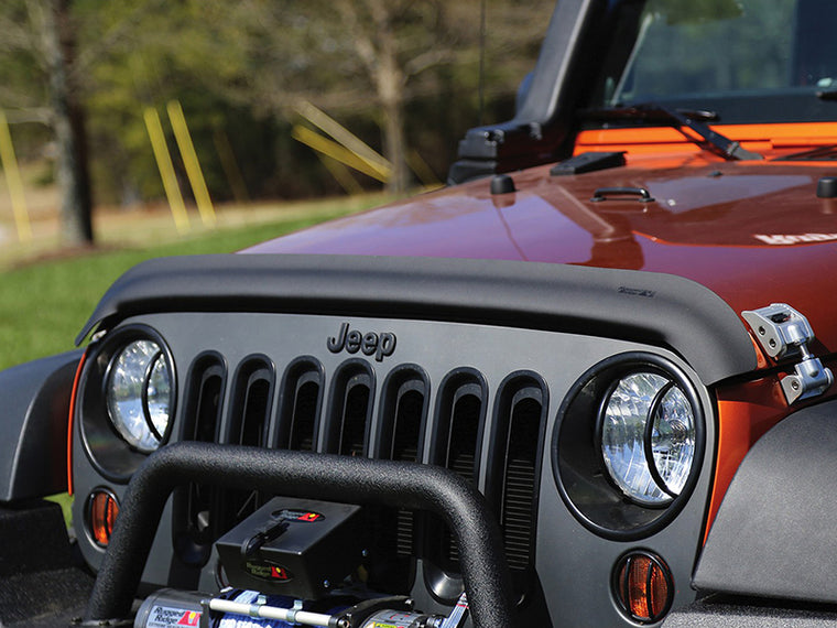 RUGGED RIDGE Wrap Around Bug Deflector for 07-18 Jeep Wrangler JK & JK Unlimited