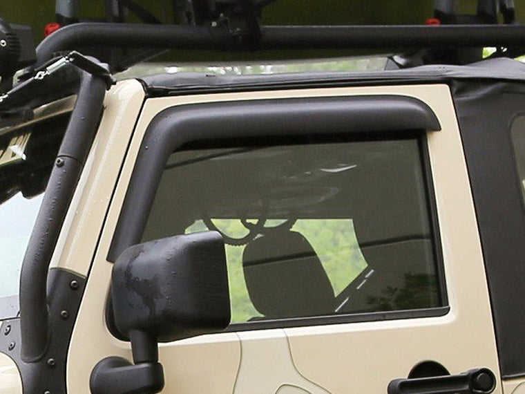 RUGGED RIDGE Vent Visor  for 07-18 Jeep Wrangler JK