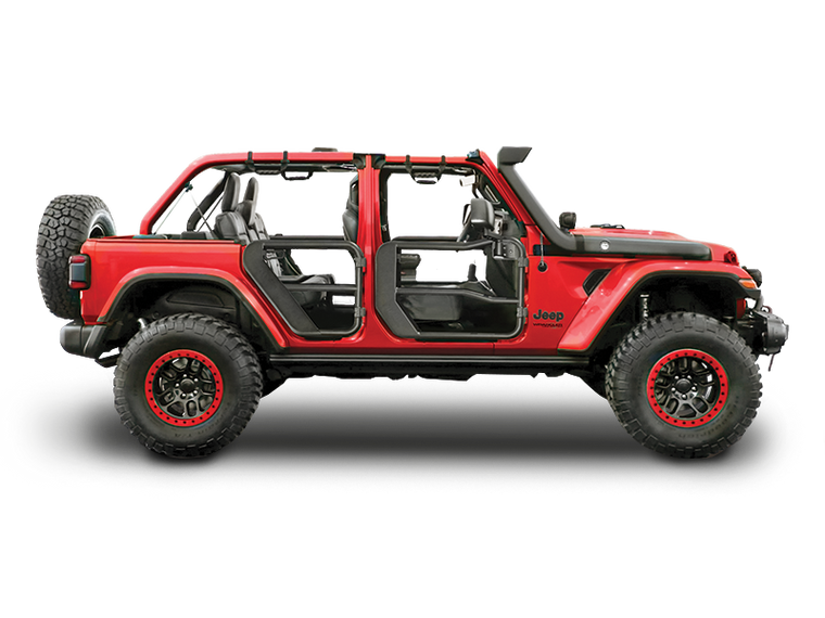 RUGGED RIDGE Tube Door Kit for 18-up Jeep Wrangler JL & JL Unlimited