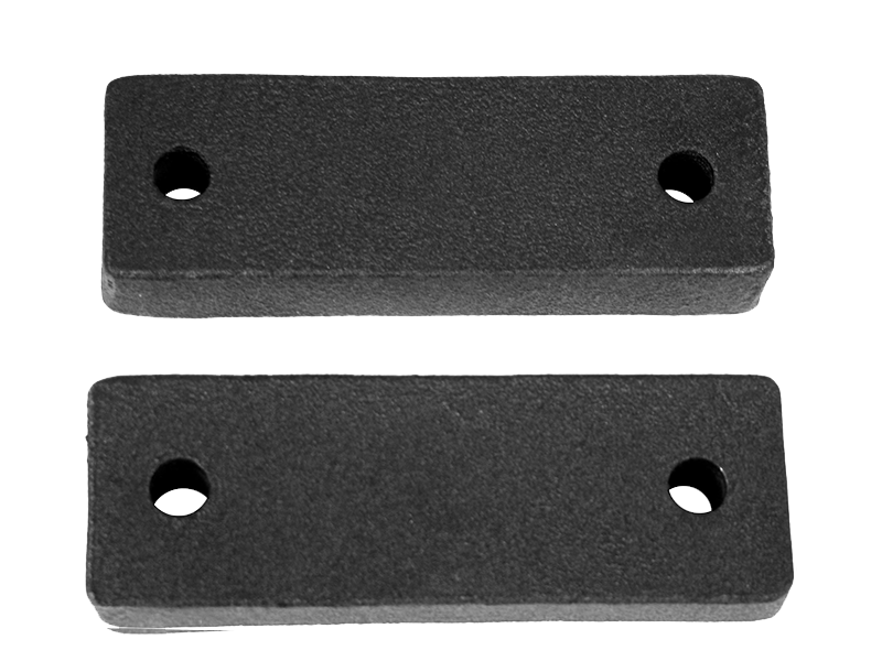 RUGGED RIDGE Winch Spacer Blocks, Pair for 07-18 Jeep Wrangler JK & JK Unlimited