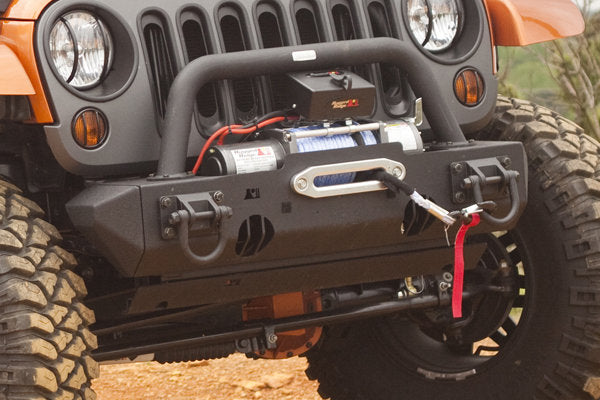 RUGGED RIDGE Stubby Ends for XHD Bumper, Pair for 07-18 Jeep Wrangler JK & JK Unlimited